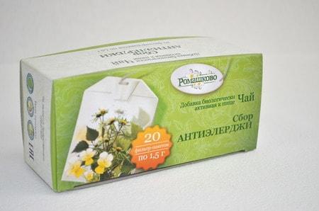 БАД Сбор «Антиэлерджи» РОМАШКОВО