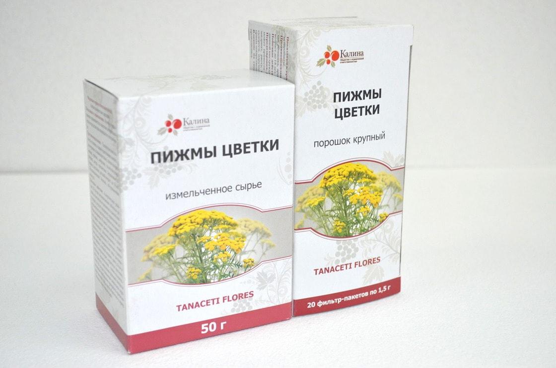Пижмы цветки