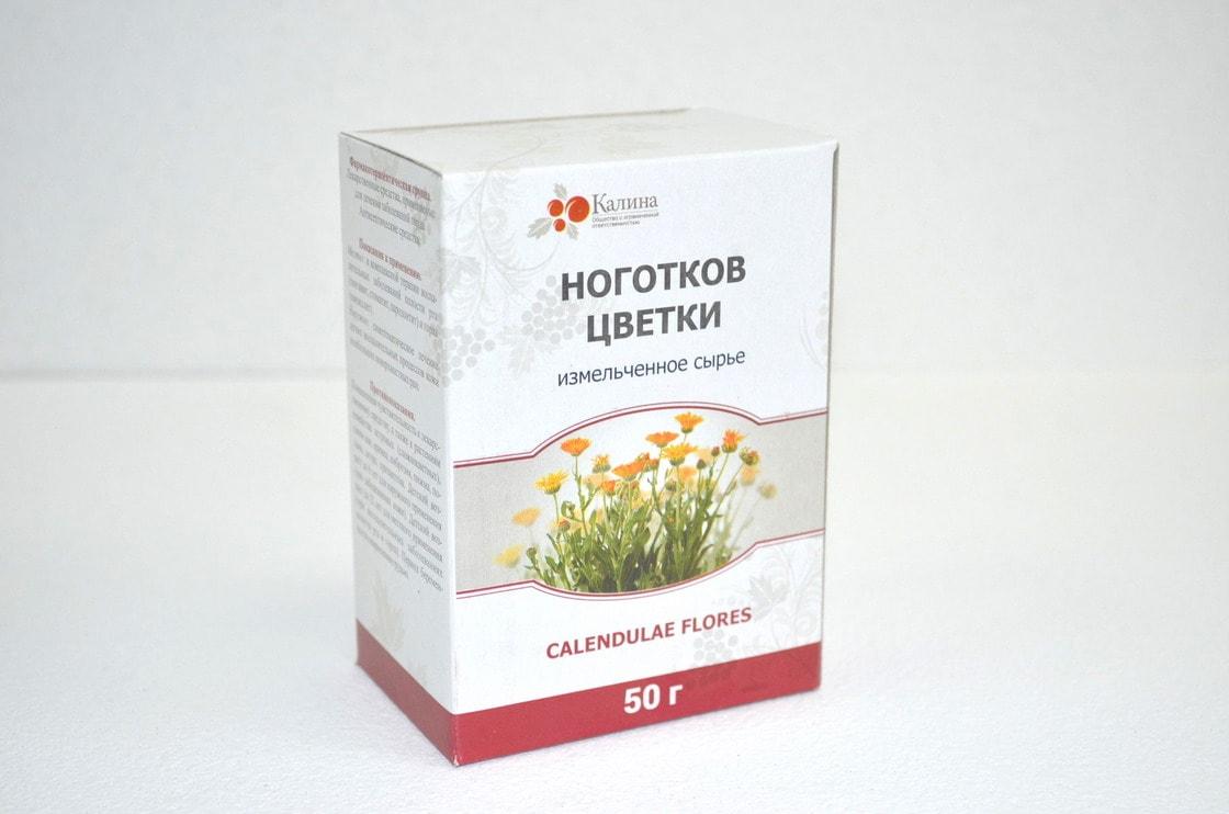 Ноготков цветки